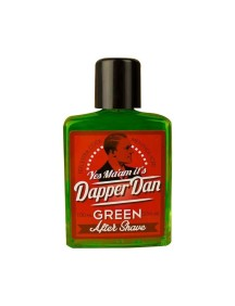 Dapper Dan Aftershave Grün